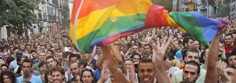 Orgullo LGBT en Madrid